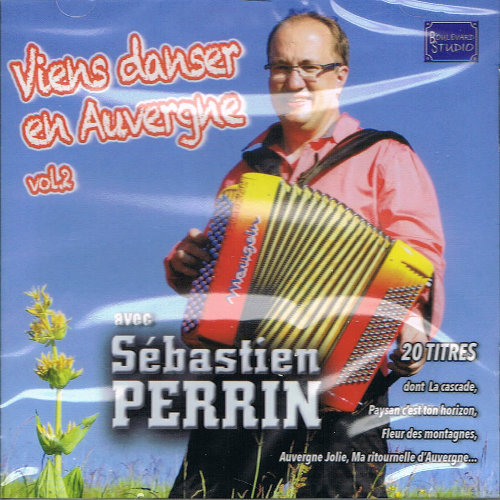Sébastien PERRIN – VIENS DANSER EN AUVERGNE VOL2