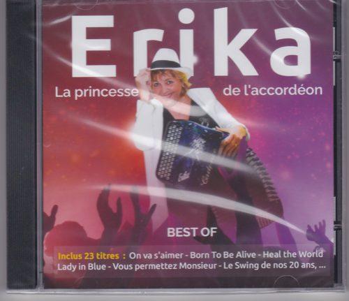 ERIKA-La princesse de l'accordéon Best of